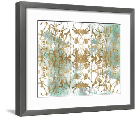 Verdant Mirror II-Jennifer Goldberger-Framed Art Print