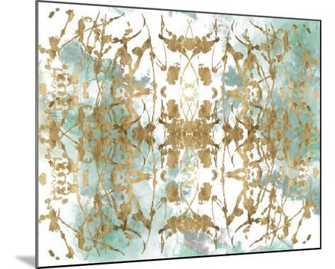 Verdant Mirror II-Jennifer Goldberger-Mounted Art Print