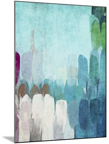 Abstract the Blues II-Irena Orlov-Mounted Art Print