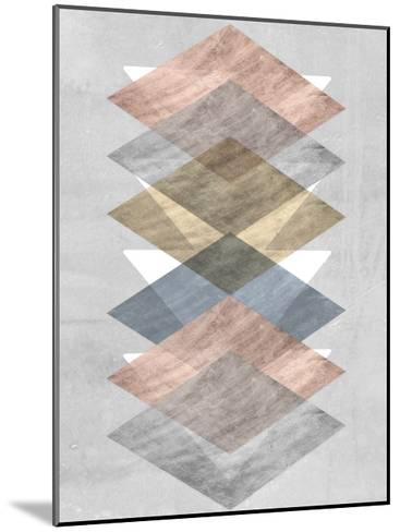 Diamond Allign II-Jennifer Goldberger-Mounted Art Print
