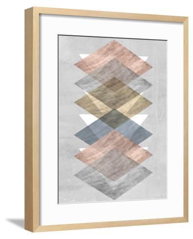 Diamond Allign II-Jennifer Goldberger-Framed Art Print