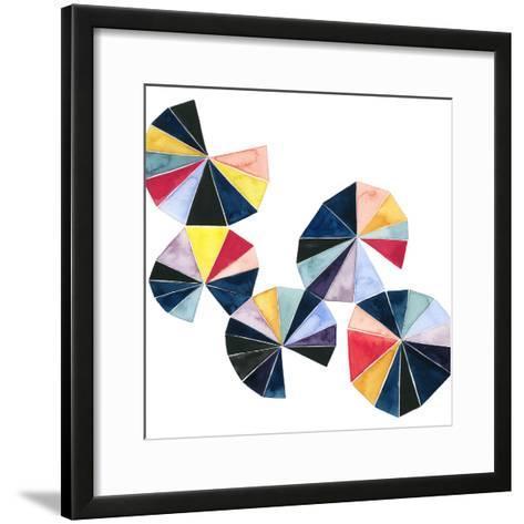 Pinwheel Bright II-Grace Popp-Framed Art Print