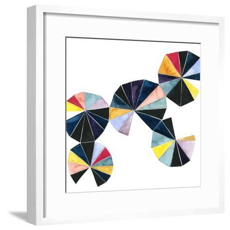 Pinwheel Bright I-Grace Popp-Framed Art Print