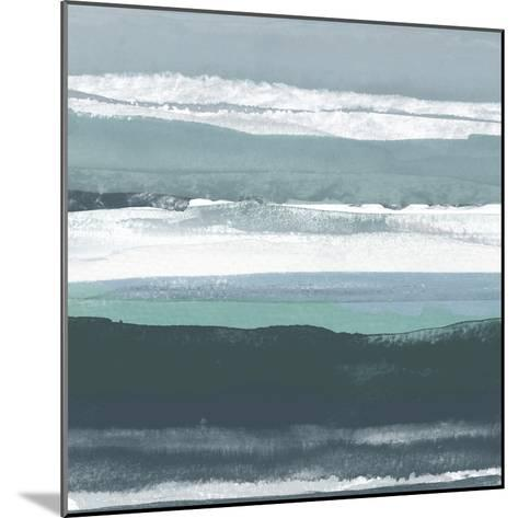 Teal Sea II-Rob Delamater-Mounted Art Print