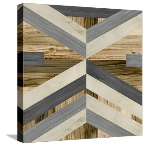 Geometric Inlay I-June Vess-Stretched Canvas Print