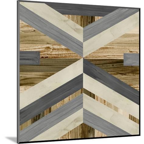 Geometric Inlay I-June Vess-Mounted Art Print