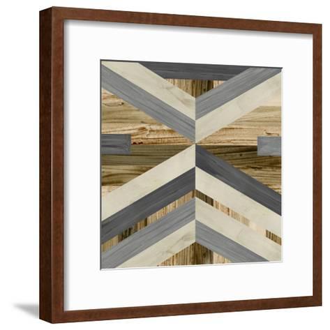 Geometric Inlay I-June Vess-Framed Art Print