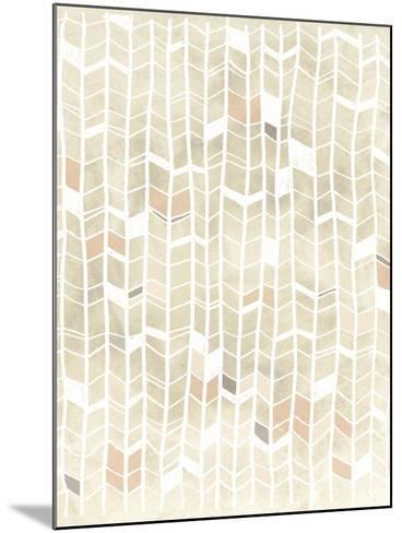 Pattern Intersect I-June Vess-Mounted Art Print