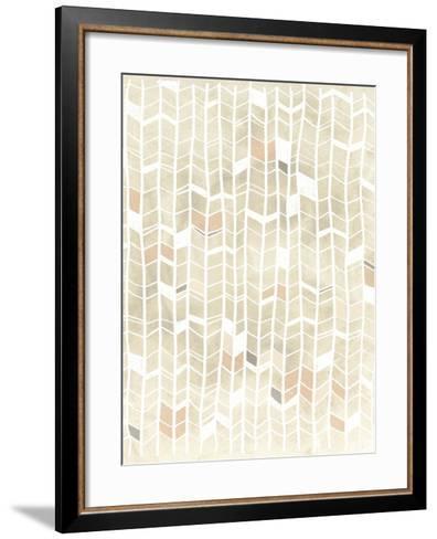 Pattern Intersect I-June Vess-Framed Art Print