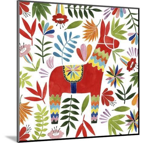 Festive Otomi II-Grace Popp-Mounted Art Print