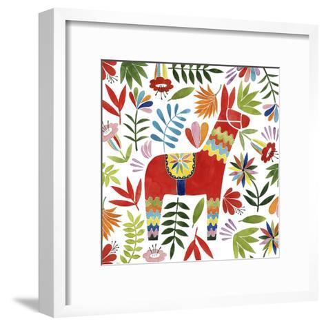 Festive Otomi II-Grace Popp-Framed Art Print