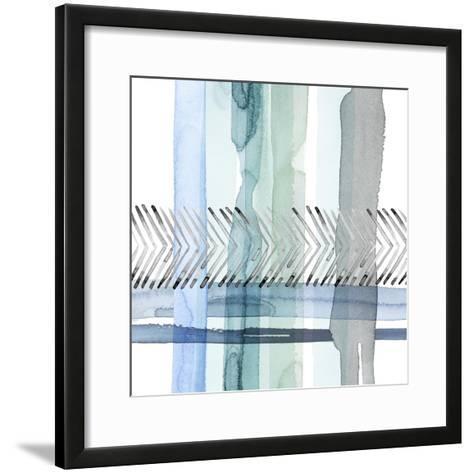 Cross Stitch I-Grace Popp-Framed Art Print