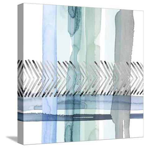 Cross Stitch I-Grace Popp-Stretched Canvas Print