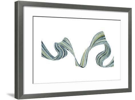 Ribbon Stream II-Grace Popp-Framed Art Print