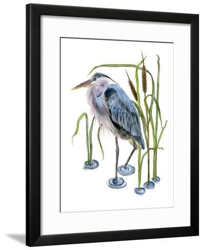 At the Pond I-Melissa Wang-Framed Art Print