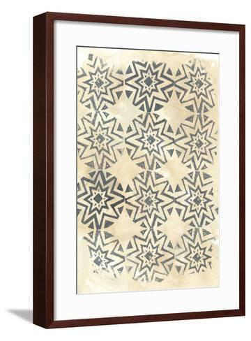 Ancient Textile IV-June Vess-Framed Art Print