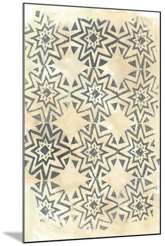Ancient Textile IV-June Vess-Mounted Art Print