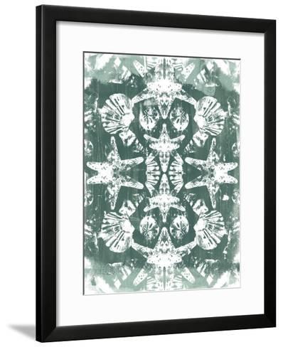 Sea Green Kaleidoscope I-June Vess-Framed Art Print