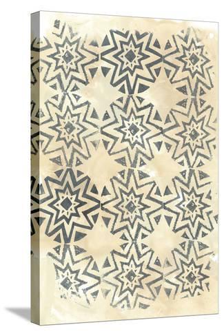 Ancient Textile IV-June Vess-Stretched Canvas Print