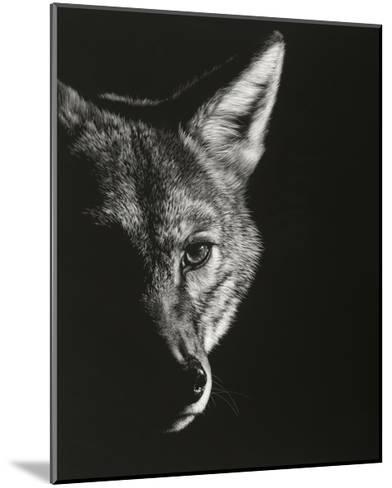 Black Glimpse VI-Julie Chapman-Mounted Art Print
