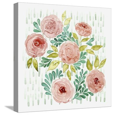 Spring Blossoming I-Grace Popp-Stretched Canvas Print