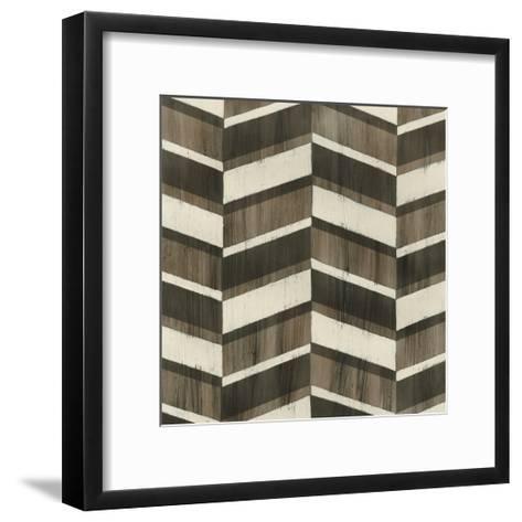 Driftwood Geometry VII-June Vess-Framed Art Print