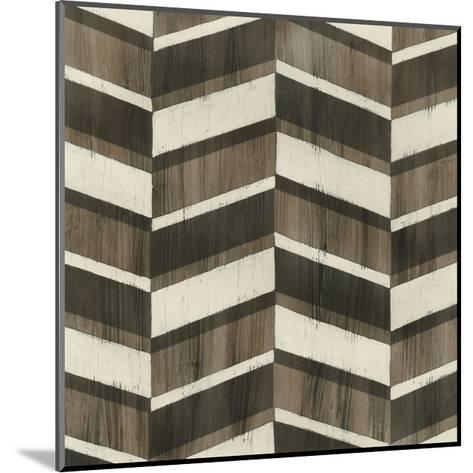 Driftwood Geometry VII-June Vess-Mounted Art Print