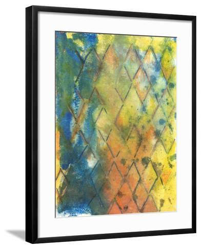 Spring Lattice II-Joyce Combs-Framed Art Print