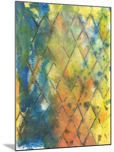 Spring Lattice II-Joyce Combs-Mounted Art Print