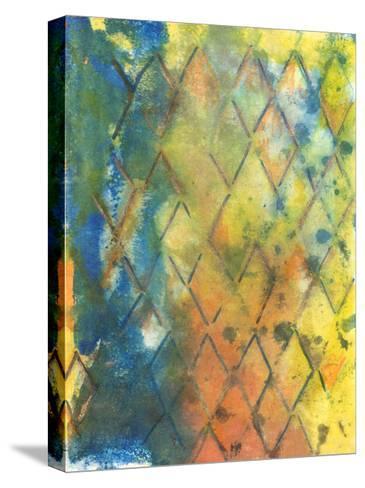 Spring Lattice II-Joyce Combs-Stretched Canvas Print