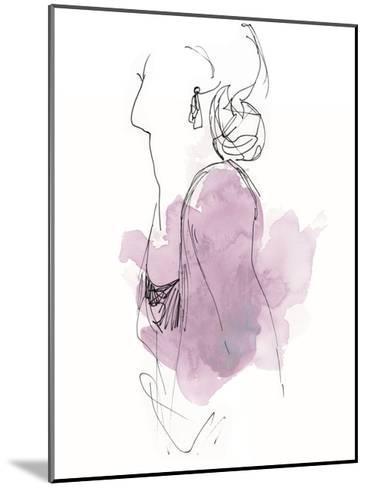 Fashion Splash I-June Vess-Mounted Art Print
