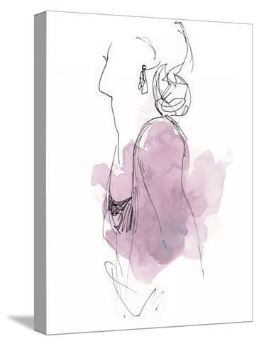 Fashion Splash I-June Vess-Stretched Canvas Print