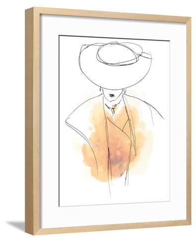 Fashion Splash III-June Vess-Framed Art Print