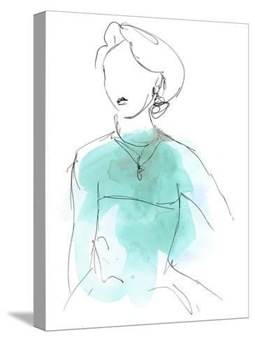 Fashion Splash IV-June Vess-Stretched Canvas Print