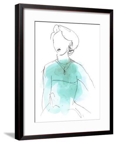 Fashion Splash IV-June Vess-Framed Art Print