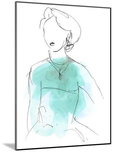 Fashion Splash IV-June Vess-Mounted Art Print