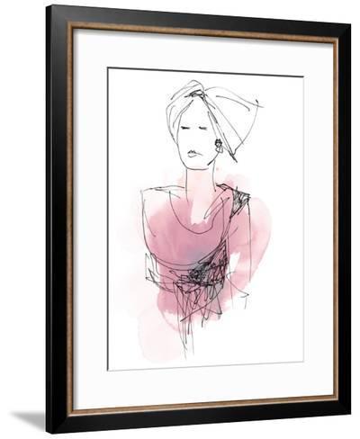 Fashion Splash V-June Vess-Framed Art Print