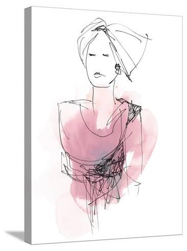 Fashion Splash V-June Vess-Stretched Canvas Print