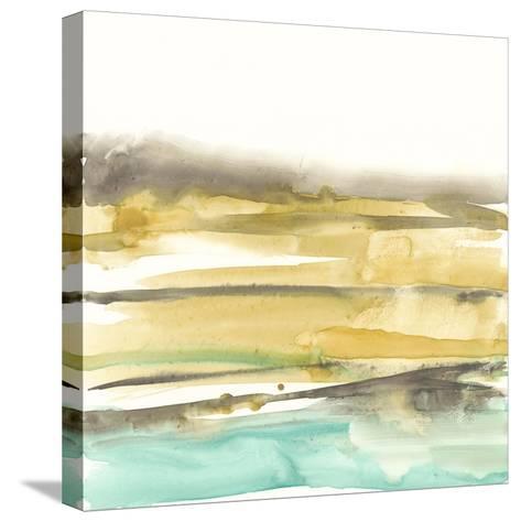 Mountains to Sea III-Jennifer Goldberger-Stretched Canvas Print