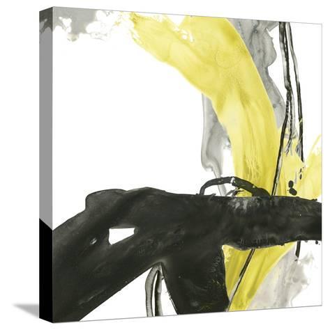 Citron Flux IV-June Vess-Stretched Canvas Print