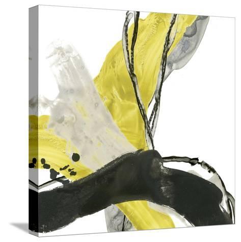 Citron Flux III-June Vess-Stretched Canvas Print