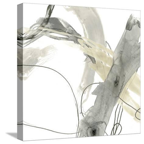 Monochrome Momentum III-June Vess-Stretched Canvas Print
