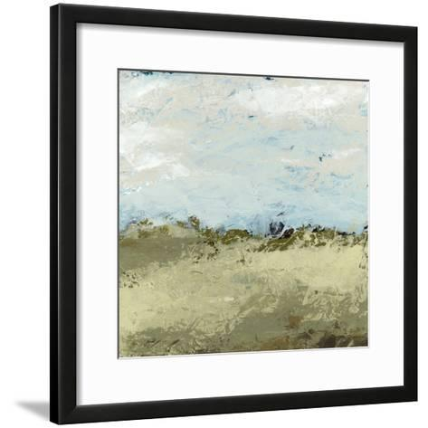 Green Fields I-June Vess-Framed Art Print