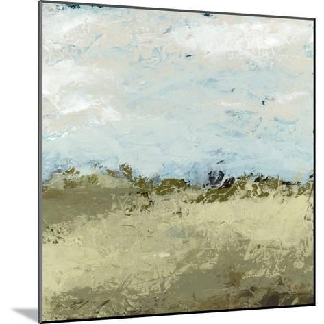 Green Fields I-June Vess-Mounted Art Print