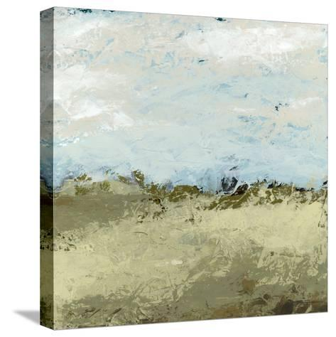 Green Fields I-June Vess-Stretched Canvas Print