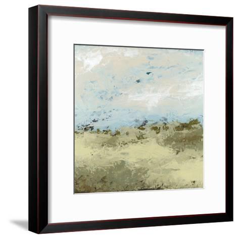 Green Fields II-June Vess-Framed Art Print