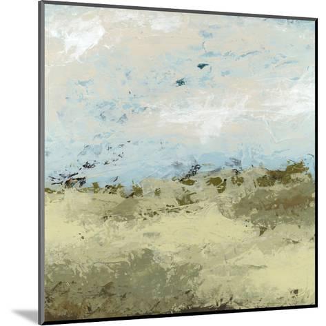 Green Fields II-June Vess-Mounted Art Print