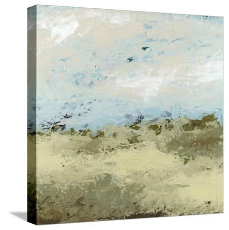 Green Fields II-June Vess-Stretched Canvas Print