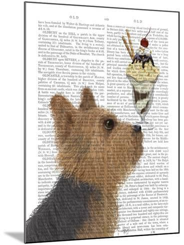 Yorkshire Terrier Ice Cream-Fab Funky-Mounted Art Print