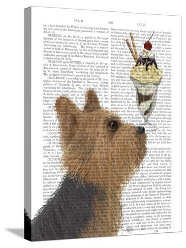Yorkshire Terrier Ice Cream-Fab Funky-Stretched Canvas Print